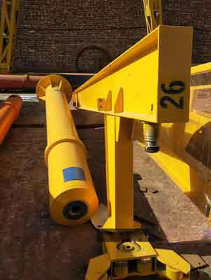 1 ton jib crane Qatar: 1 ton hoist jib crane for costal