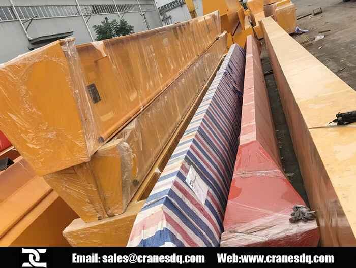 Overhead crane Nigeria: Single girder overhead crane for