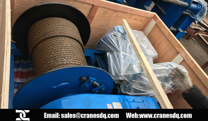 5 ton wire rope electric winch for sale