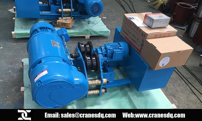 Electric hoist Egypt: 10 ton wire rope hoist for sale Egypt