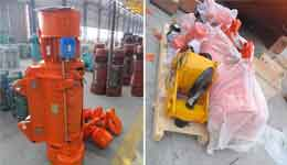 16 Ton Electric Wire Rope Hoist for Russia Customer