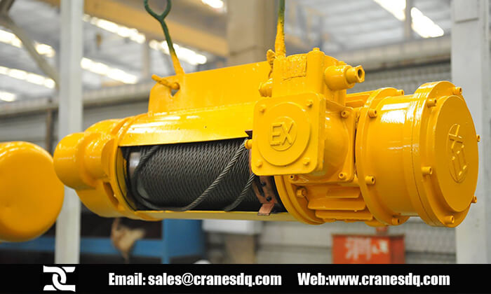 Explosion proof hoist for sale, Chinese explosion proof hoist manufacturer, explosion proof hoist