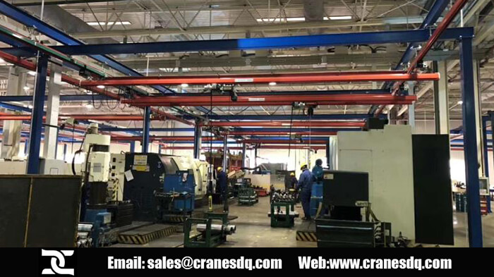 KBK crane, the kbk light crane system