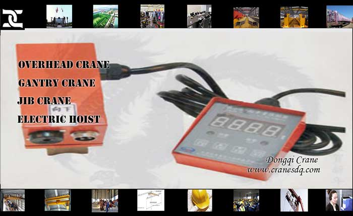 Crane accessories: BCQ weight overhead load limiter