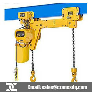 300kg -50 ton electric chain hoists: Electric / manual trolley chain