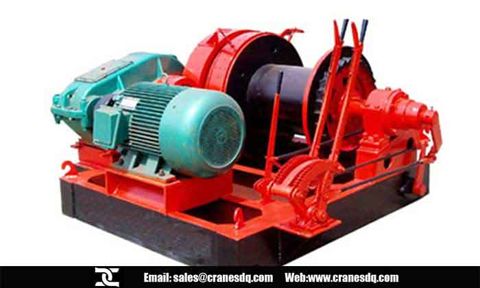 Crane accessories: Elecric Winch