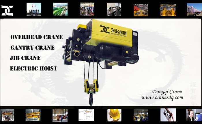 Crane accessories: FEM Electric hoist