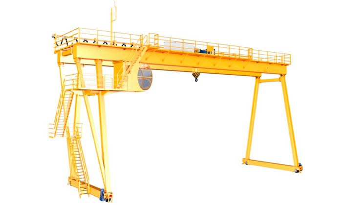 European gantry crane with FEM crane standards
