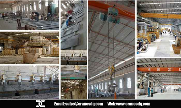 Marble lifting machine : overhead crane application