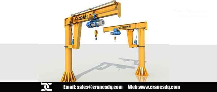 Jib crane, optimal jib crane for short transfer applications