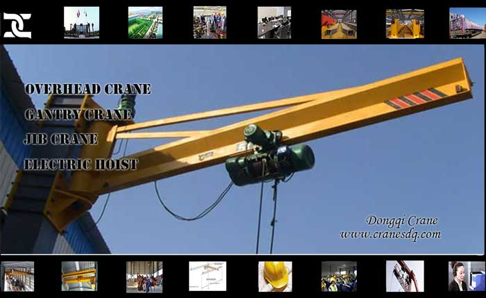 Wall mounted 80 ton crane