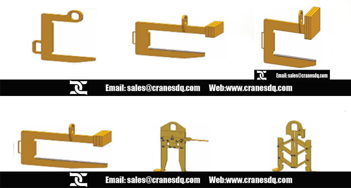 Coil lifter Overhead crane attachments