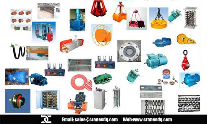 Crane accessories : Overhead crane accessories and gantry crane accessories