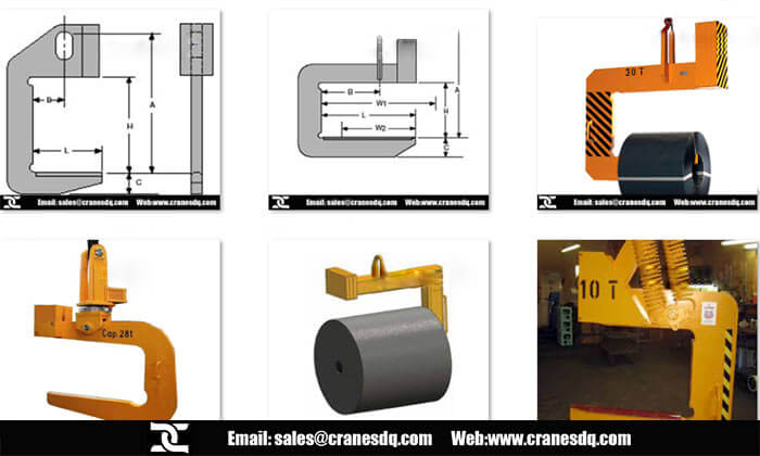 Crane c hook Overhead crane attachments