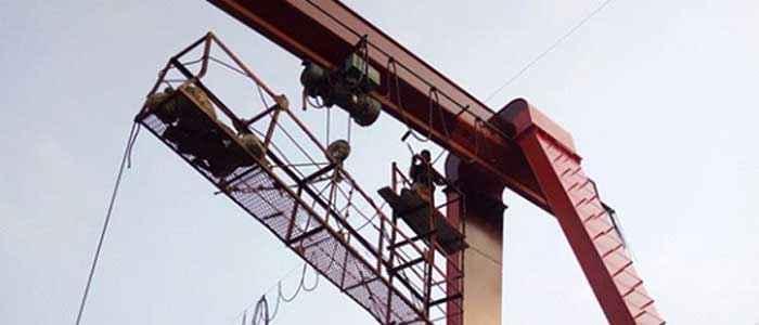 Crane repair to ensure your overhead crane safety | Overhead crane