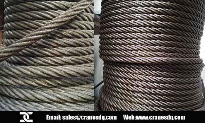 Crane parts scrapped standards: crane brake, wire rope, crane ...