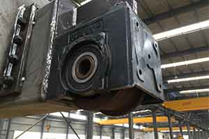 Crane accessories: crane wheel block