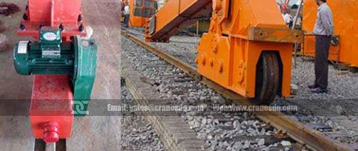 Rail installation for rail crane: Overhead crane and gantry crane- Dongqi Crane Rail ...