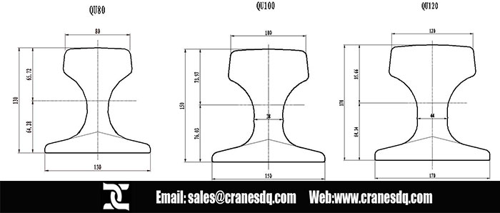 Overhead Cranes Dimensions : Overhead crane rail gantry various