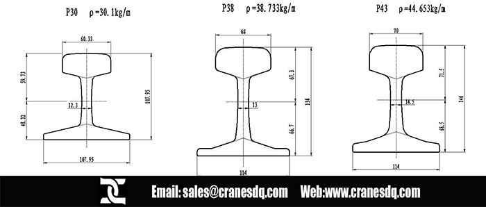 Overhead Crane Rail Amp Gantry Crane Rail Various Crane