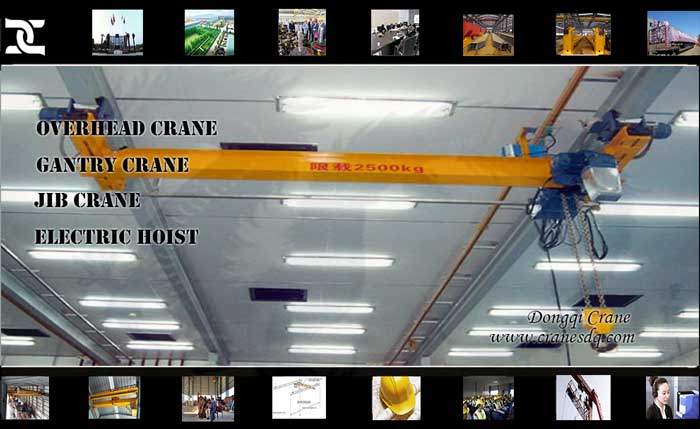 FEM ceiling mounted crane