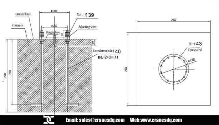 Jib Crane Basic Floor Mounted Jib Crane Pillar Jib Crane