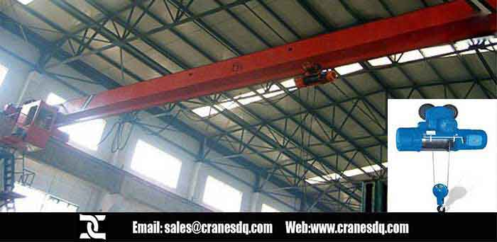 Explosion proof single girder floor operated crane