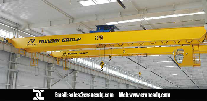 European Style Double Girder floor operated crane