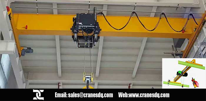 Electric Hoist floor operated crane