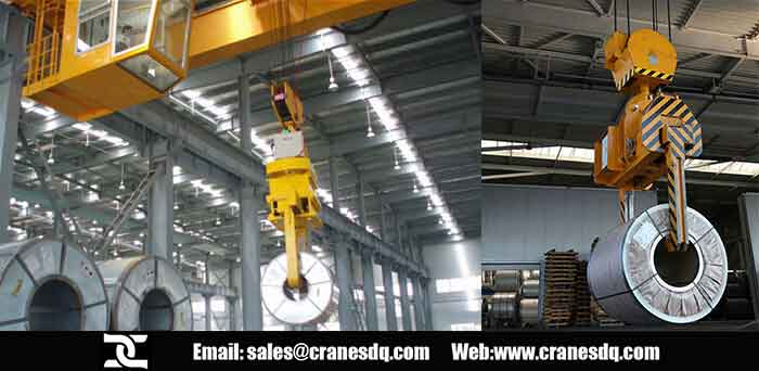 Double girder electric hoist floor operated crane