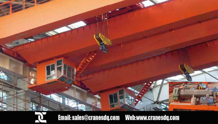 floor operated crane with hook