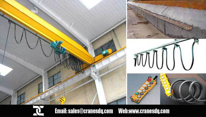 Single girder hoist floor operated crane