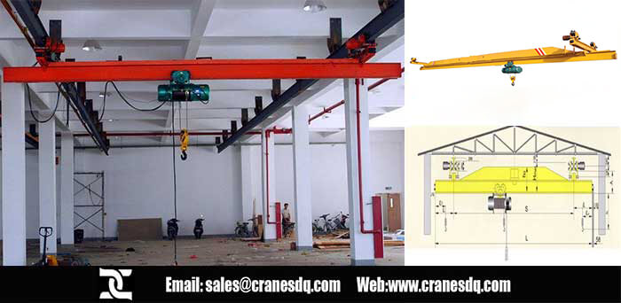 Floor operated crane: Suspension overhead crane