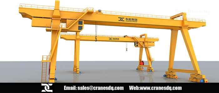 Overhead crane Bosnia: 10 ton Double girder overhead crane Bosnia