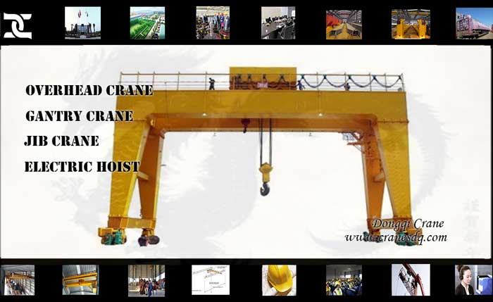 Double Girder Gantry floor operated crane