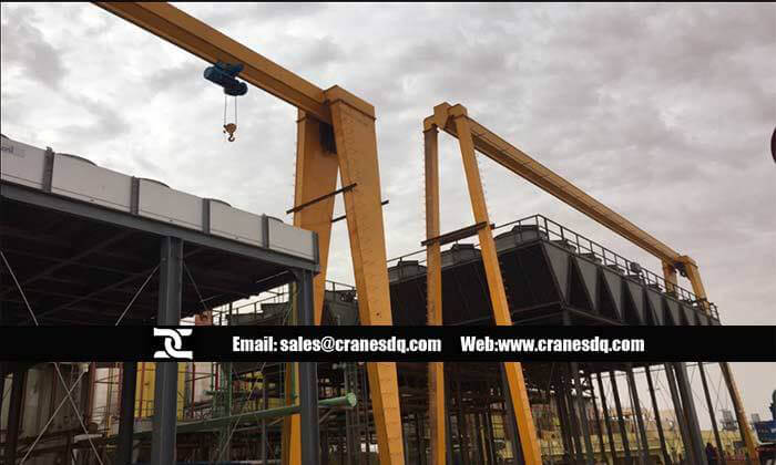 Gantry crane supplier for Saudi Arabia client