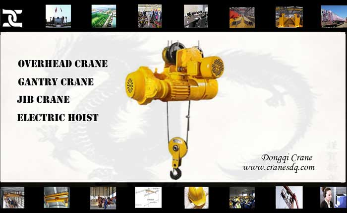 Crane accessories: Electric hoist