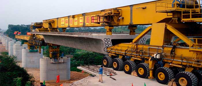 Material handling crane for Construction and civil engineering