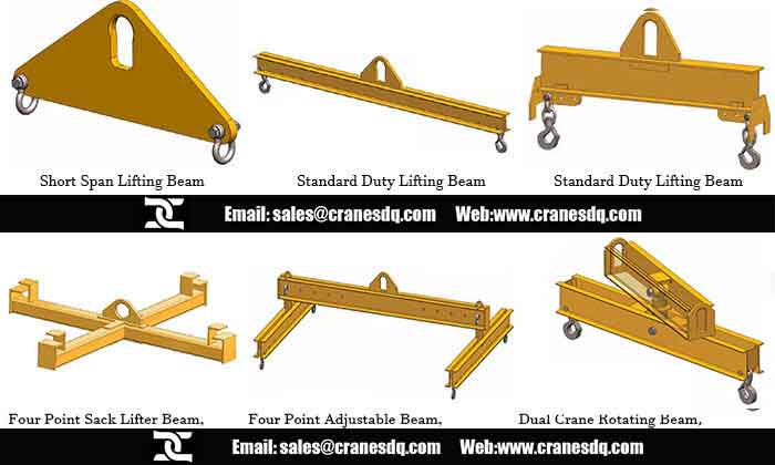 Lifting beam Overhead crane attachments