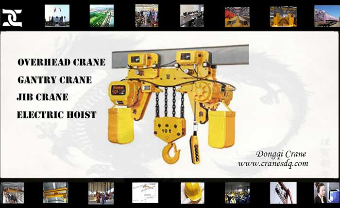 Crane accessories: low headroom electric hoist