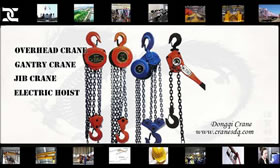 Manual chain  hoist for sale China