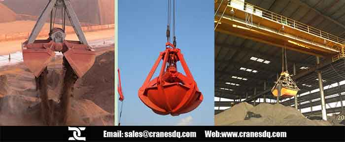 Mine crane : explosion proof crane, and grab crane