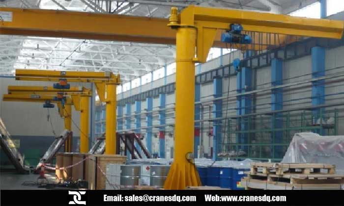 Pillar jib crane for sale China