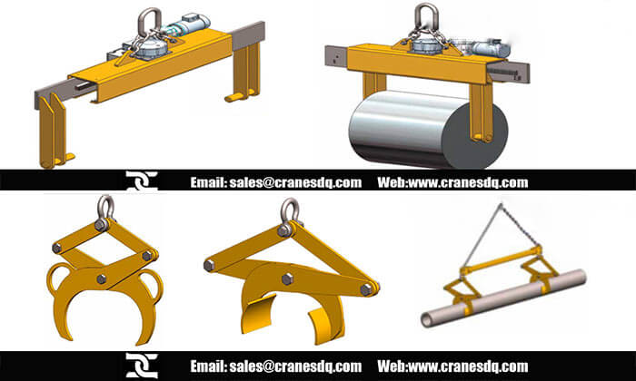 Roll liftor Overhead crane attachments