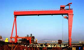 Shipyard gantry crane for sale China