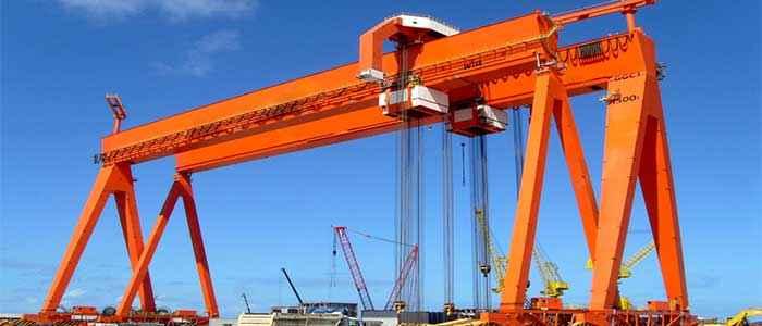 Industrial crane: Launch your ships with Dongqi shipyard crane and shipbuilding crane