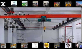 Single girder suspension 80 ton crane Singapore