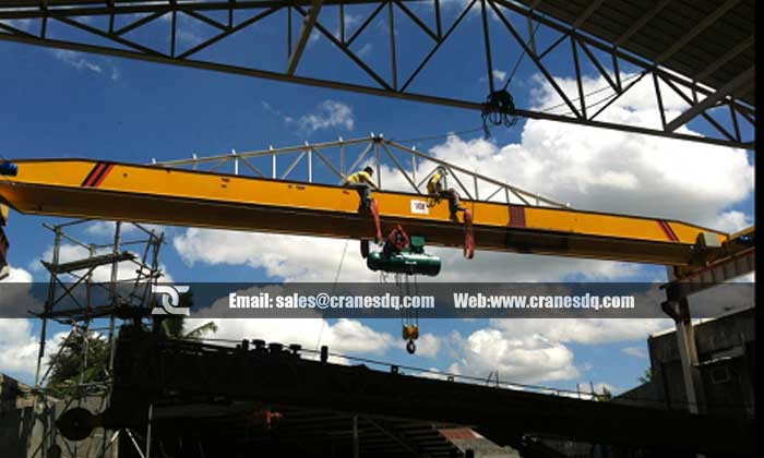 Light duty overhead crane for sale in Mongolia