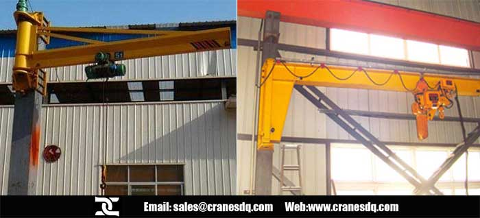 Wall mounted jib crane for sale China