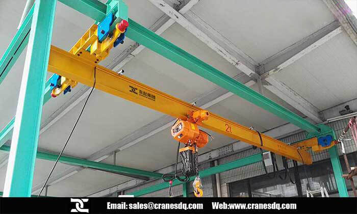 Suspension crane: 1 ton and 2 ton FEM suspension crane and Chinese suspension crane